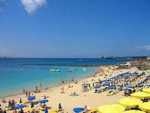 Playas del barrio de Playa Blanca